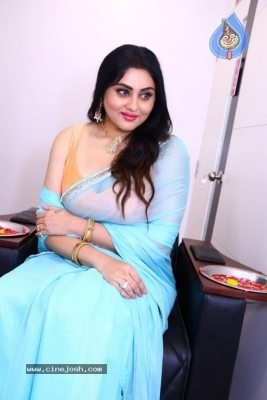 Namitha Launches Green Trends Salon - 12 of 17