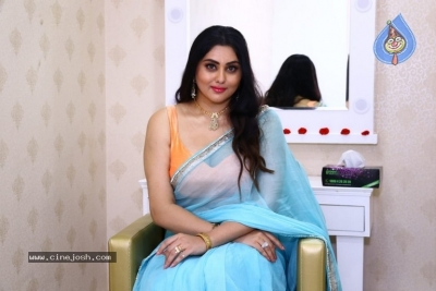 Namitha Launches Green Trends Salon - 15 of 17
