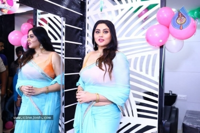 Namitha Launches Green Trends Salon - 17 of 17