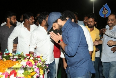 NTR and Kalyan Ram visit NTR Ghat on NTR Death Anniversary - 22 of 42