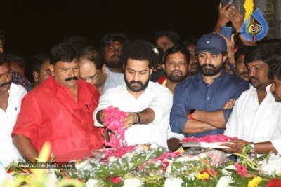 NTR and Kalyan Ram visit NTR Ghat on NTR Death Anniversary - 24 of 42