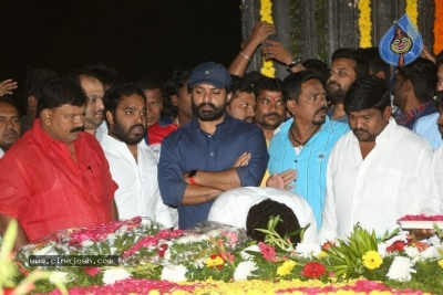 NTR and Kalyan Ram visit NTR Ghat on NTR Death Anniversary - 26 of 42