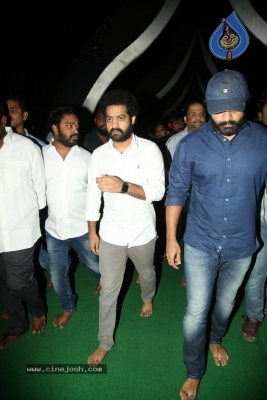 NTR and Kalyan Ram visit NTR Ghat on NTR Death Anniversary - 27 of 42