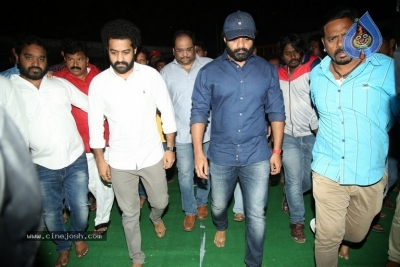 NTR and Kalyan Ram visit NTR Ghat on NTR Death Anniversary - 28 of 42
