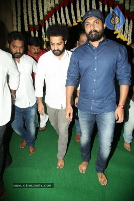 NTR and Kalyan Ram visit NTR Ghat on NTR Death Anniversary - 29 of 42