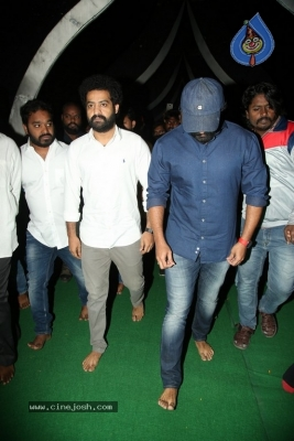 NTR and Kalyan Ram visit NTR Ghat on NTR Death Anniversary - 30 of 42