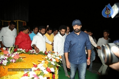 NTR and Kalyan Ram visit NTR Ghat on NTR Death Anniversary - 31 of 42