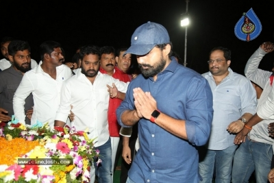NTR and Kalyan Ram visit NTR Ghat on NTR Death Anniversary - 40 of 42