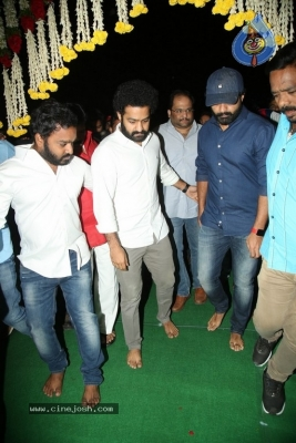 NTR and Kalyan Ram visit NTR Ghat on NTR Death Anniversary - 42 of 42