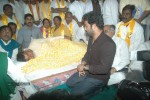 NTR and Political Leaders at Chandrababu Indefinite Fast - 17 of 74