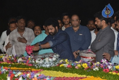 NTR Family Members at NTR Ghat - 3 of 39