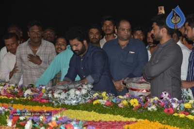 NTR Family Members at NTR Ghat - 5 of 39