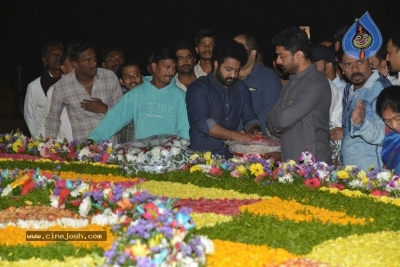 NTR Family Members at NTR Ghat - 11 of 39