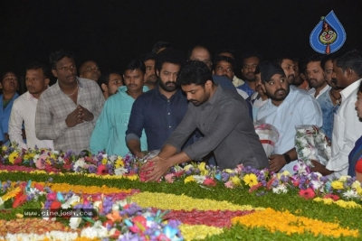 NTR Family Members at NTR Ghat - 18 of 39