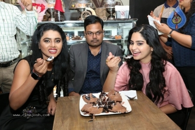 Purvi Thakkar and Sumaya Choco Launched The Chocolate Room - 6 of 18