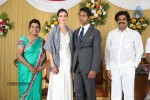 Reporter Anupama Subramanian Son Wedding Reception  - 86 of 107