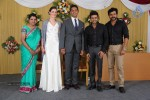 Reporter Anupama Subramanian Son Wedding Reception  - 90 of 107