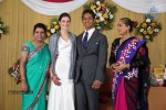 Reporter Anupama Subramanian Son Wedding Reception  - 91 of 107