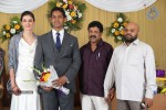 Reporter Anupama Subramanian Son Wedding Reception  - 92 of 107