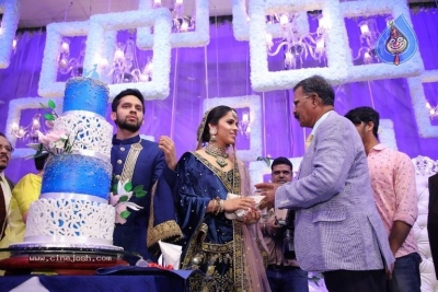 Saina Nehwal and Parupalli Kashyap Wedding Reception - 85 of 126