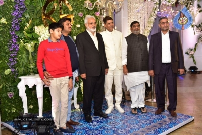 Saina Nehwal and Parupalli Kashyap Wedding Reception - 86 of 126