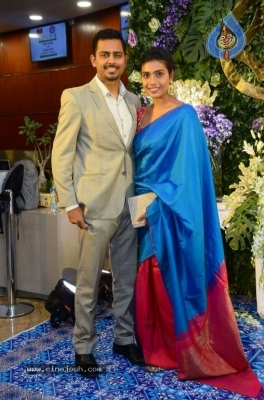 Saina Nehwal and Parupalli Kashyap Wedding Reception - 89 of 126
