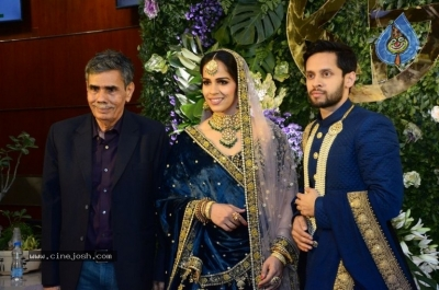 Saina Nehwal and Parupalli Kashyap Wedding Reception - 90 of 126