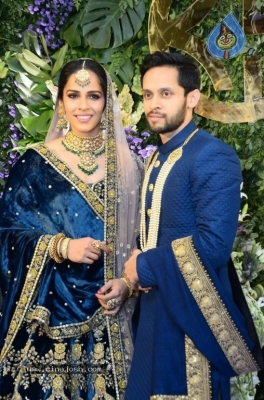 Saina Nehwal and Parupalli Kashyap Wedding Reception - 93 of 126
