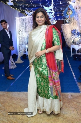 Saina Nehwal and Parupalli Kashyap Wedding Reception - 98 of 126