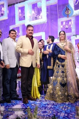 Saina Nehwal and Parupalli Kashyap Wedding Reception - 100 of 126