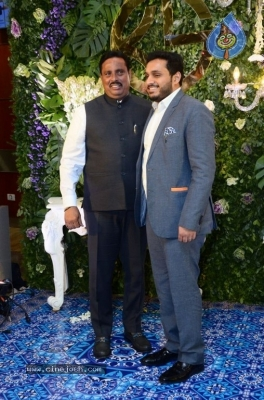 Saina Nehwal and Parupalli Kashyap Wedding Reception - 102 of 126
