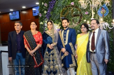 Saina Nehwal and Parupalli Kashyap Wedding Reception - 103 of 126