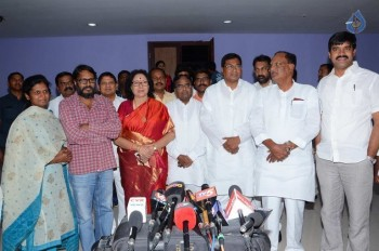 T Congress Leaders Watches Rudramadevi Movie - 7 of 33