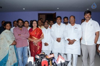 T Congress Leaders Watches Rudramadevi Movie - 9 of 33