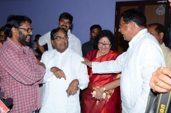 T Congress Leaders Watches Rudramadevi Movie - 10 of 33