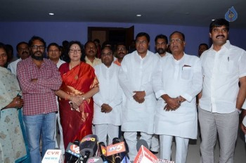 T Congress Leaders Watches Rudramadevi Movie - 14 of 33