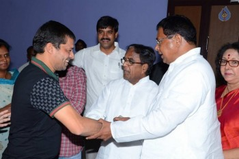 T Congress Leaders Watches Rudramadevi Movie - 15 of 33
