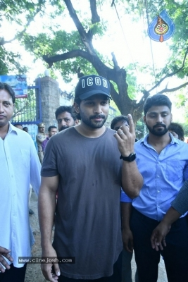 Tollywood Celebrities Cast Their Vote - 43 of 61