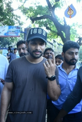 Tollywood Celebrities Cast Their Vote - 44 of 61
