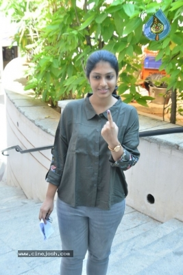 Tollywood Celebrities Cast Their Vote - 45 of 61