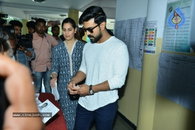 Tollywood Celebrities Cast Their Vote - 46 of 61