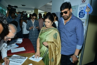 Tollywood Celebrities Cast Their Vote - 48 of 61