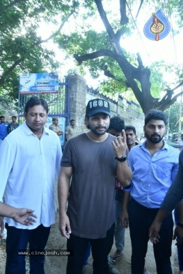Tollywood Celebrities Cast Their Vote - 49 of 61