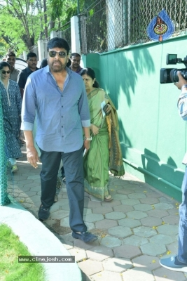 Tollywood Celebrities Cast Their Vote - 50 of 61