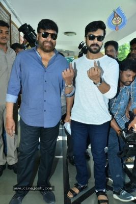 Tollywood Celebrities Cast Their Vote - 51 of 61