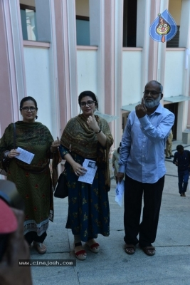 Tollywood Celebrities Cast Their Vote - 53 of 61