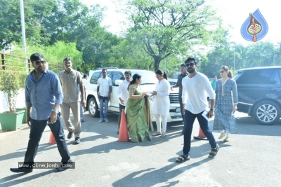 Tollywood Celebrities Cast Their Vote - 59 of 61