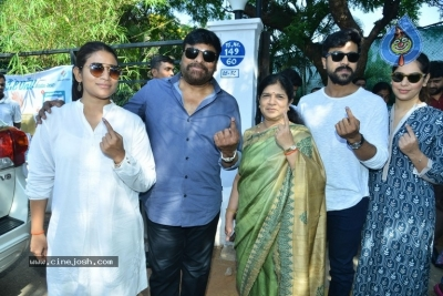 Tollywood Celebrities Cast Their Vote - 60 of 61