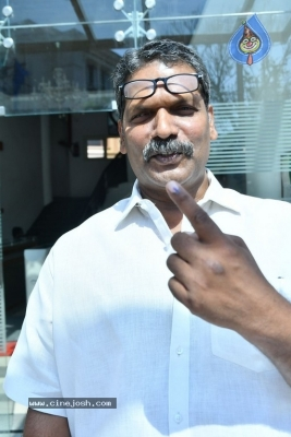 Tollywood Celebrities Cast Their Vote - 61 of 61