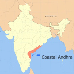 Depression due to heavy rain in Coastal Andhra
